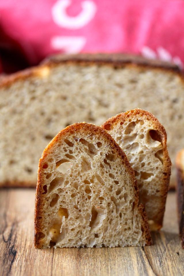 sliced kamut bread