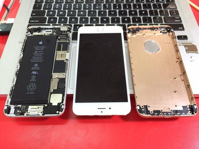 quy trình thay vỏ cho iPhone 6s plus