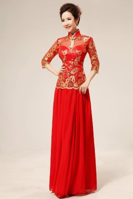 14 Model Gaun Pesta Brokat Cantik Dan Elegan Terbaru