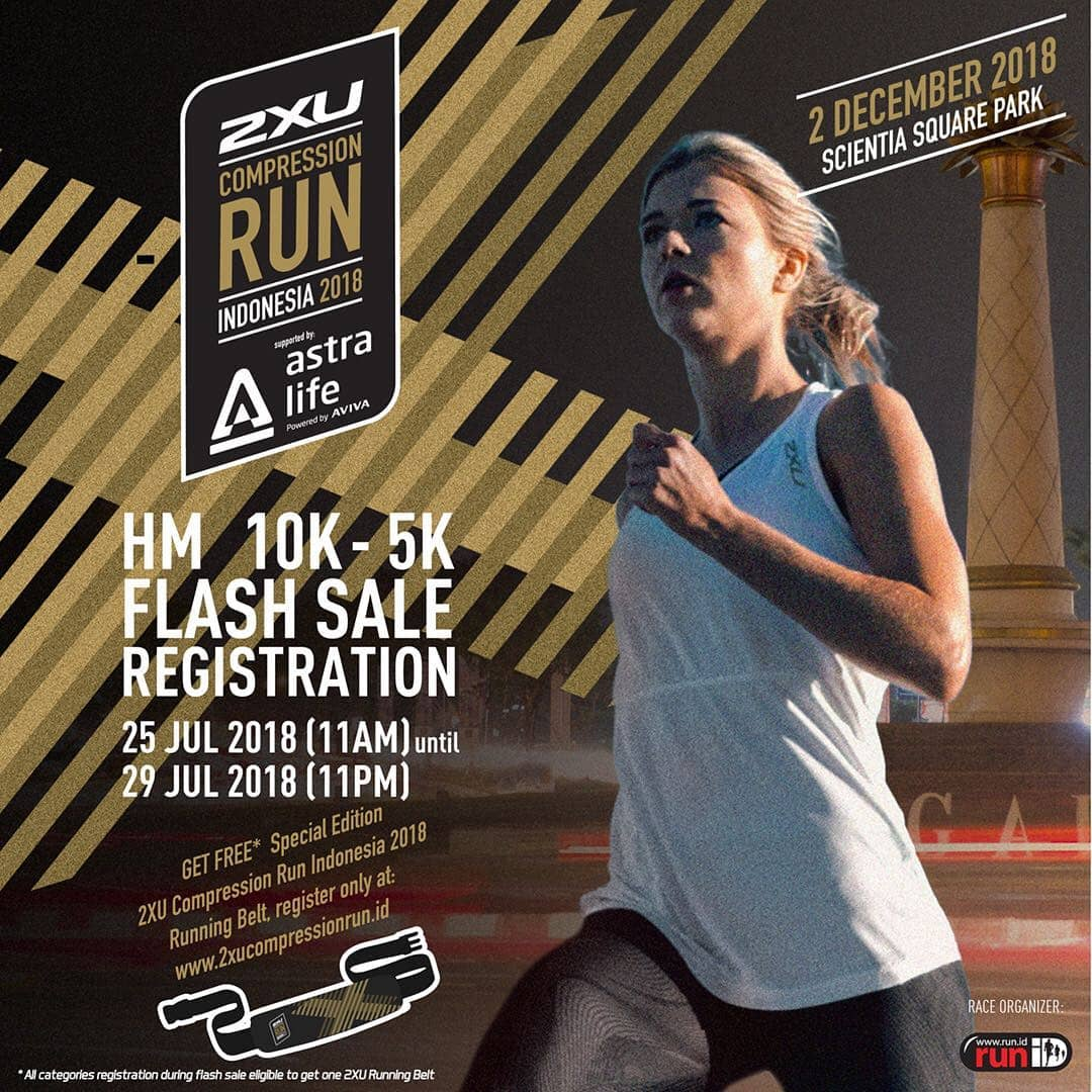 2XU Compression Run Indonesia • 2018