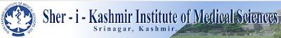 Jobs in SKIMS for posts of lecturer nursing