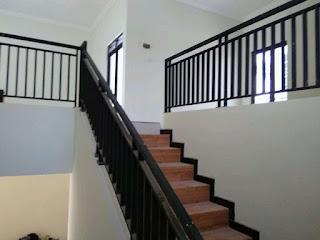 Proyek Pemasangan Pagar Tangga Rumah Wilayah Bojong Menteng
