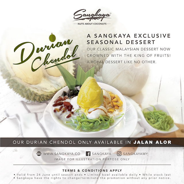 SANGKAYA Durian Chendol