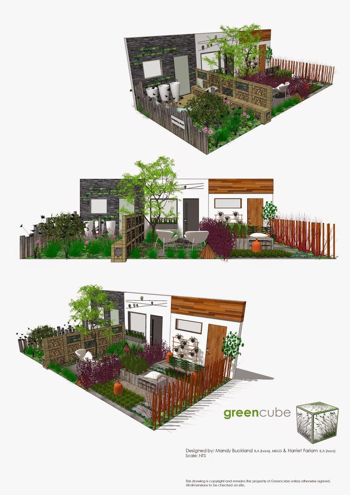 Greencube Garden And Landscape Design, UK: May 2014
