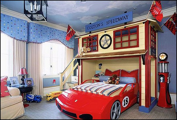 Car Themed Bedrooms For Agers Boys Cars