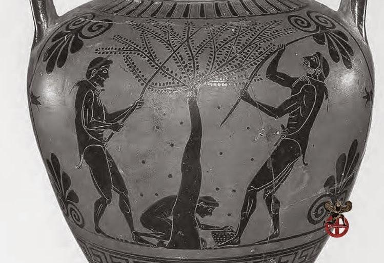 Η Ελιά . Απαρχή και συνέχεια στον ελληνικό κόσμο
