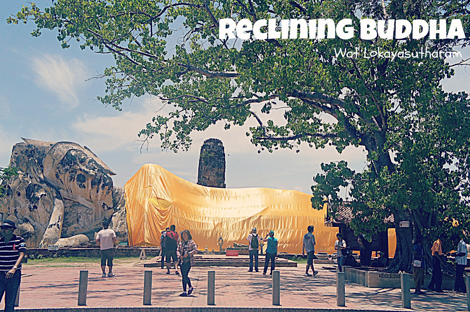 Reclining Buddha at Wat Lokayasutharam Thailand Travel Guide