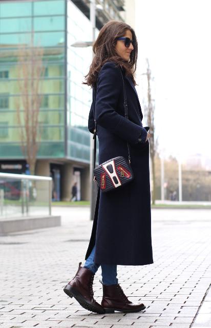 Abrigo largo para un look urbano!