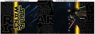 Etiqueta Tic Tac de Star Wars para Imprimir Gratis.
