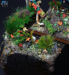 Orion, King in the Woods Wood Elves display base