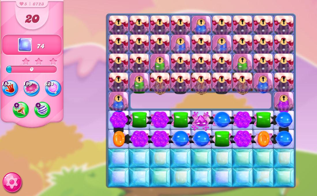 Candy Crush Saga level 6723