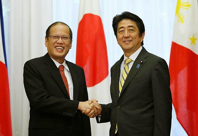 Philippines Japan Joint Forces, Philippines Japan against China, Pinas Japan, sama sama, Japan at Pinas, Philippines China territorial dispute, Pres Benigno Aquino, Aquino Abe,