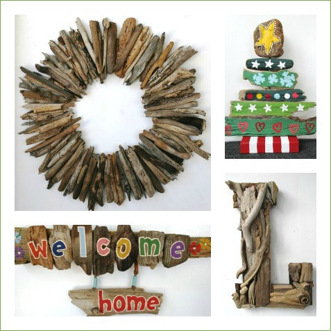 Handmade Driftwood Decor Made in CA