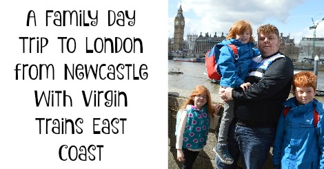 A family day trip to London with Virgin Trains East Coast