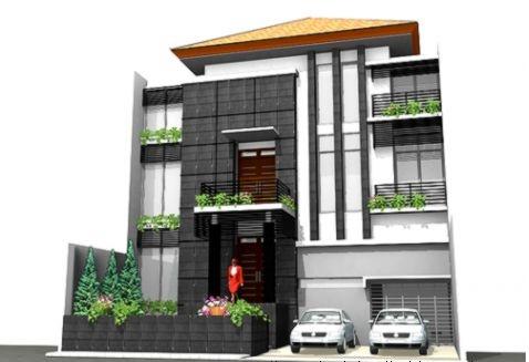 Contoh rumah minimalis 3 lantai