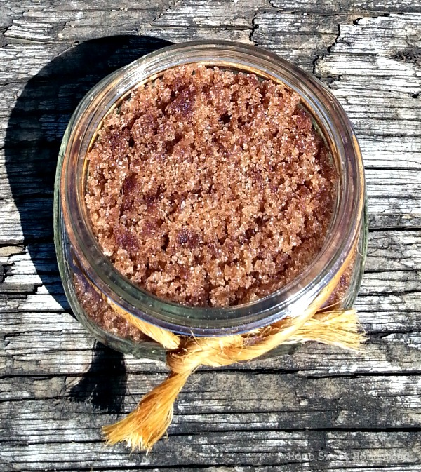Apple Pie Sugar Scrub