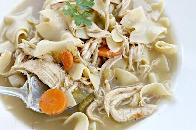 30 Minute Chicken Noodle Soup Recipe