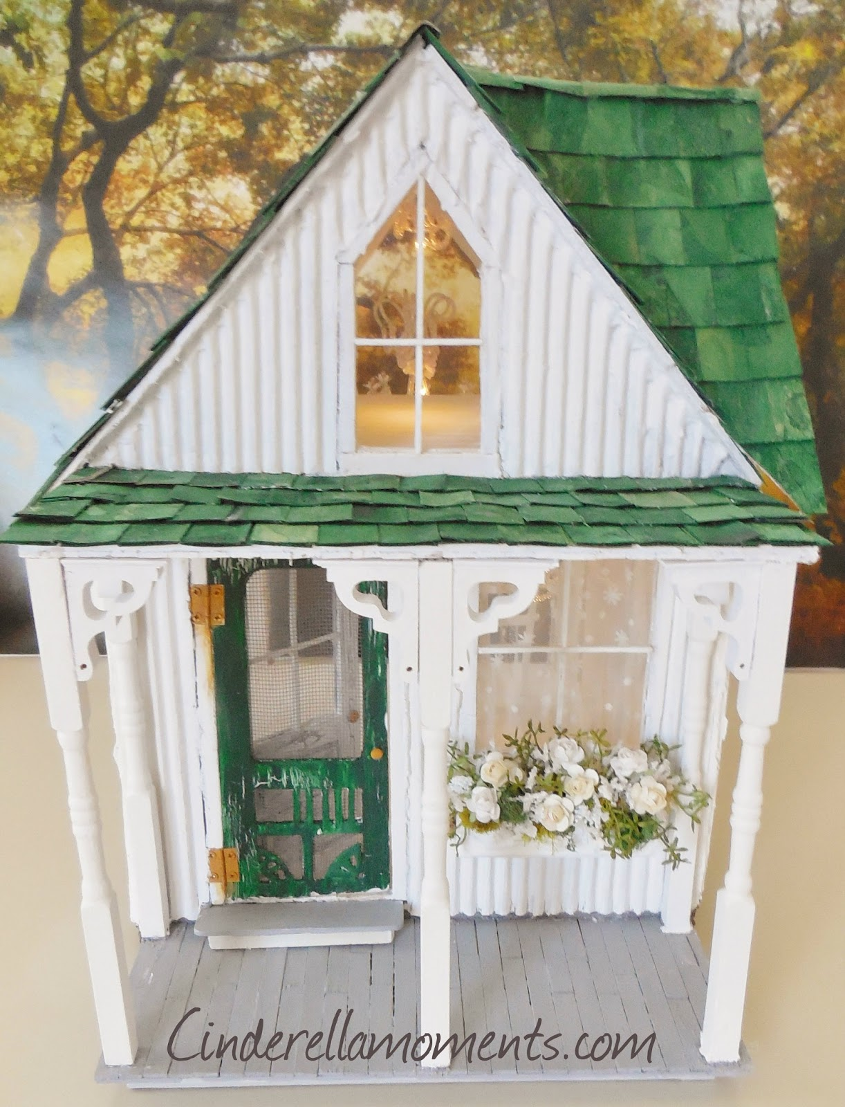Cinderella Moments: Shabby Streamside Dollhouse & The