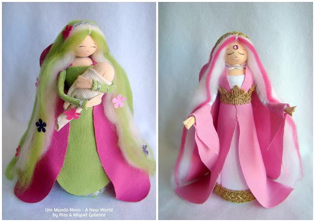 Fairy of Beauty and Fairy of Love by Um Mundo Novo