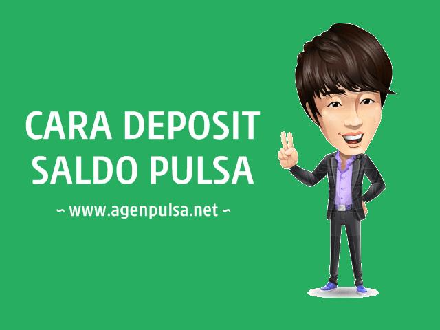 Cara Deposit / Mengisi Saldo Pulsa Murah di AgenPulsa.net