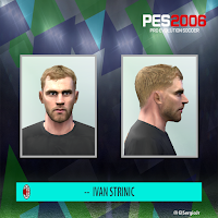 PES 6 Faces Ivan Strinić by El SergioJr