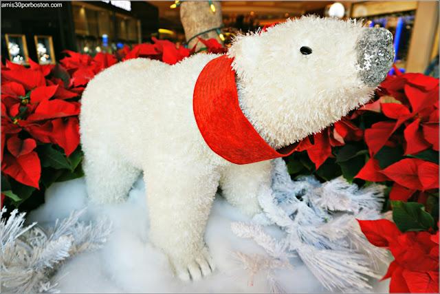 Navidad en Las Vegas 2017: Oso Polar del Hotel Bellagio