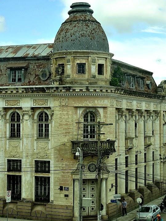 Antiga sede do Banco do Brasil, em Pelotas