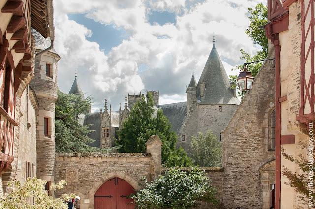 Josselin Bretaña diario viaje pueblos bonitos Francia