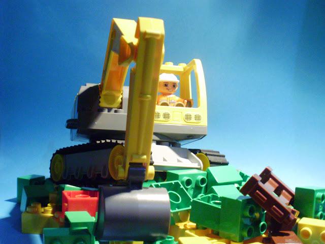 MOC LEGO Duplo Demolição