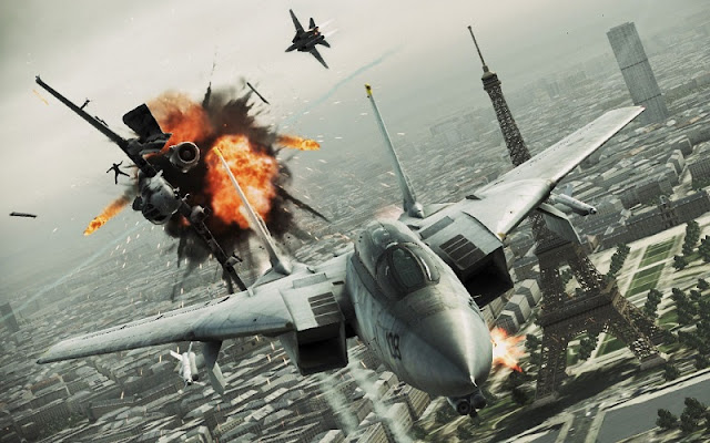 Ace Combat 7 Gameplay