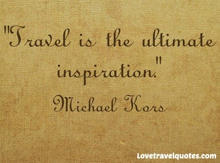 Travel is the ultimate inspiration