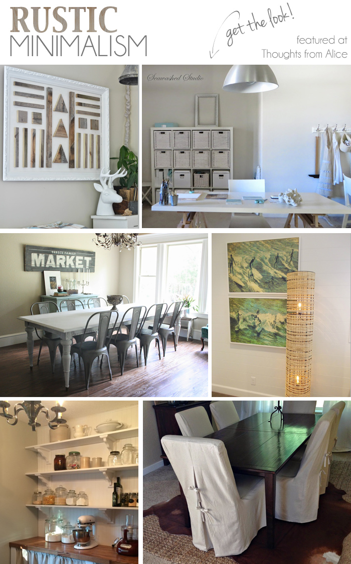Rustic Minimalism Get The Look Sundays At Home No 22