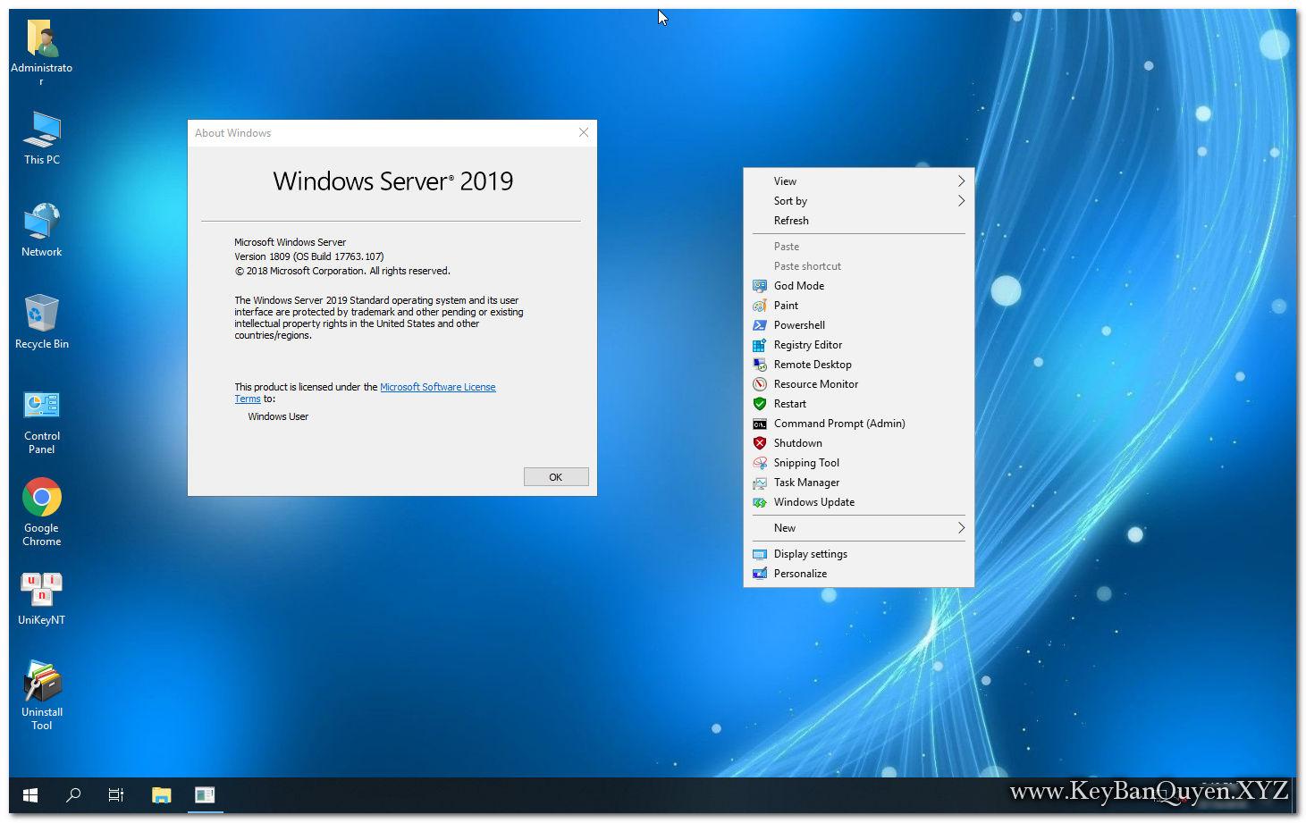 Ghost Windows Server 2019 Standard 64 Bit mới nhất .