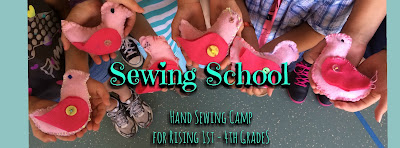 Sewing School Summer Camp 2017 Raleigh NC | Belinda Lee Designs