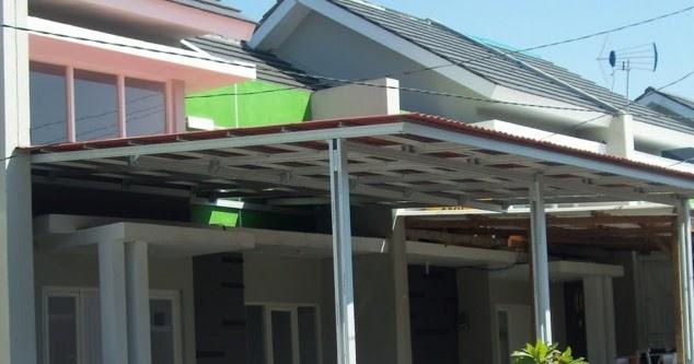lisplang kanopi baja ringan 45 gambar rumah