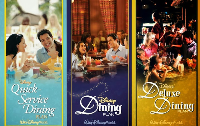 Dining Plan da Disney Planos