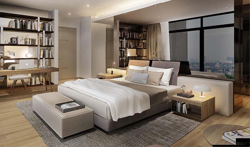 Căn hộ 3 phòng ngủ Sun Group Quảng An