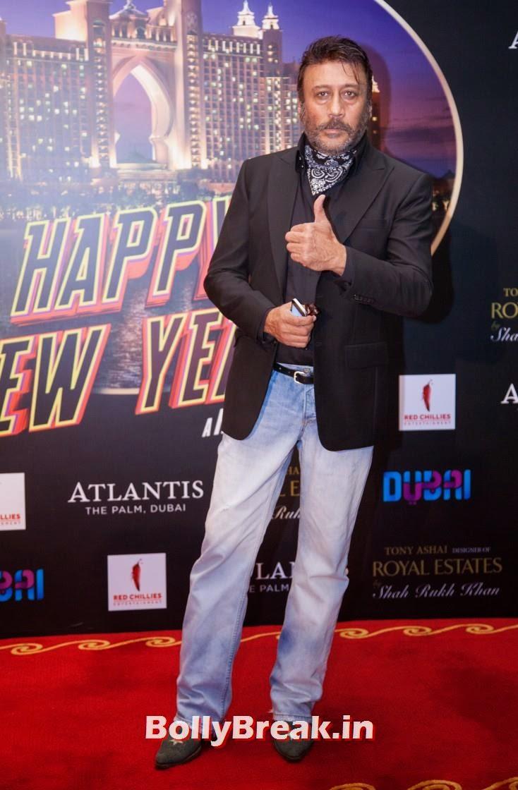 Jackie Shroff, Happy new Year Dubai Premiere Photos
