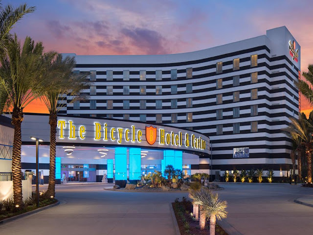 Minutes from Los Angeles,The Bicycle Hotel & Casino is an oasis of state-of-the-art amenities and timeless luxury. A place where even a casual player can feel like a tuxedo-clad high roller.