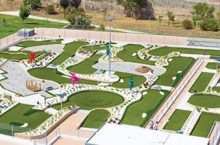 Pro Putting Garden Lagos. Photo by Minigolf.pt