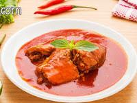 Resep Cara Memasak Sarden Kaleng Spesial Tomat Pedas