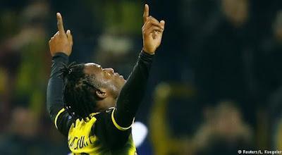 Europa League: Michy Batshuayi the hero again as Borussia Dortmund edge Atalanta  (DETAILS)