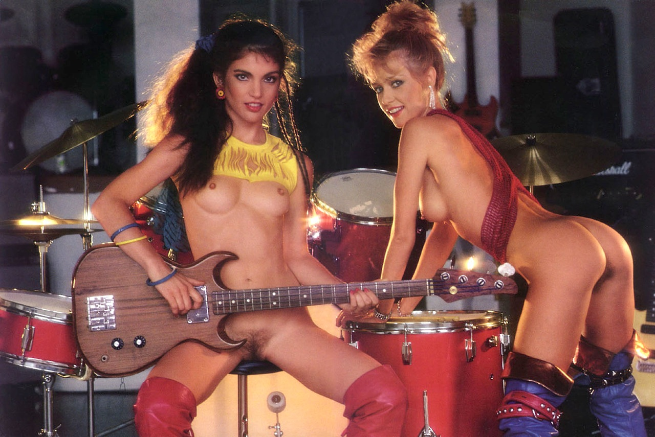 Female band nude rock