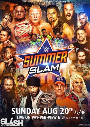 WWE SummerSlam 2017 PPV WEBRip 700MB x264 480p
