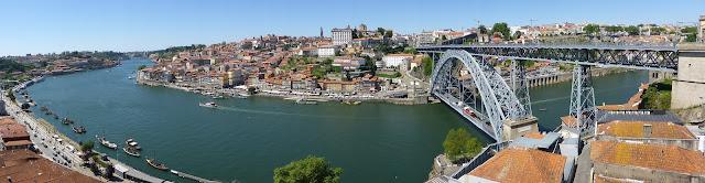 Vue sur Porto Portugal
