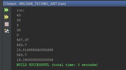 Contoh penggunaan Operator Assignment pada Java