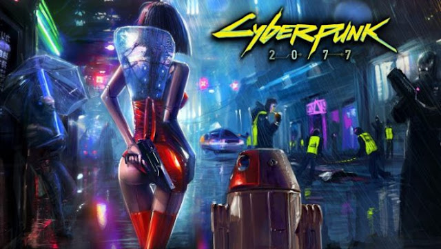 """""""Cyberpunk 2077"""" Game siêu bom tấn hành động 3D 2019"""