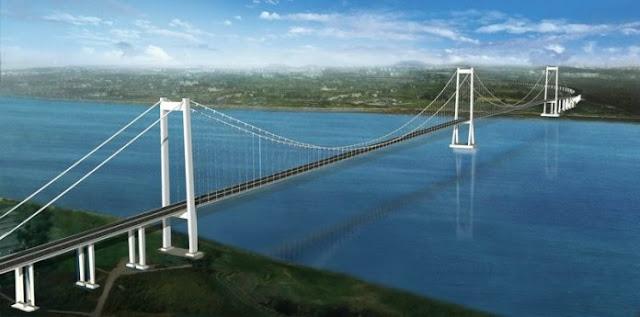 Chacao Channel Bridge (Puente Chacao), Chile.
