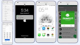 Download Theme iOS White Full Mod Update 2019 untuk Semua Jenis Oppo Smartphone