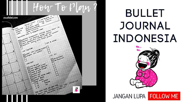 how to plan in bullet journal